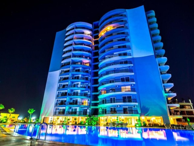 2+1 Flat for Rent in Long Beach, İskele