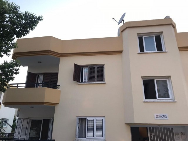 In Nicosia Ortaköy 3+1 Fully Furnished Monthly Paid Apartment For Rent 3.000 TL