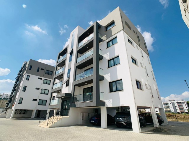 The Largest LUXURY 2 + 1 Double W.C. & Bathroom Apartment in Nicosia's Most Successful Site Management is Waiting for its New Tenant!