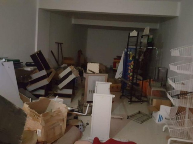 STORE FOR SALE WITH BASEMENT FLOOR AND UPSTAIRES SPACE