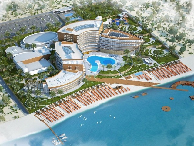 HOTEL&CASİNO PROJECT IN 100 DONUM LAND FOR SALE IN ISKELE-BAFRA