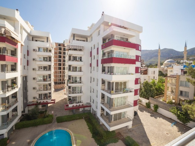 3Bedroom Large Apartment for Sale in Kyrenia in with Swimming Pool