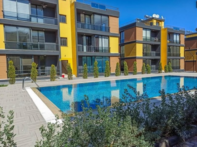 Brand New 2 + 1 Fully Furnished Apartments with Shared Pool in the Heart of Alsancak Close to all Amenities - Fantastic Location ! Property Ref GR018