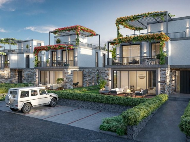 Stunning New Build 3 + 1 Villas On This Award Winning Site with Sea & Mountain Views + Shared Pool - Property Number GR1075s