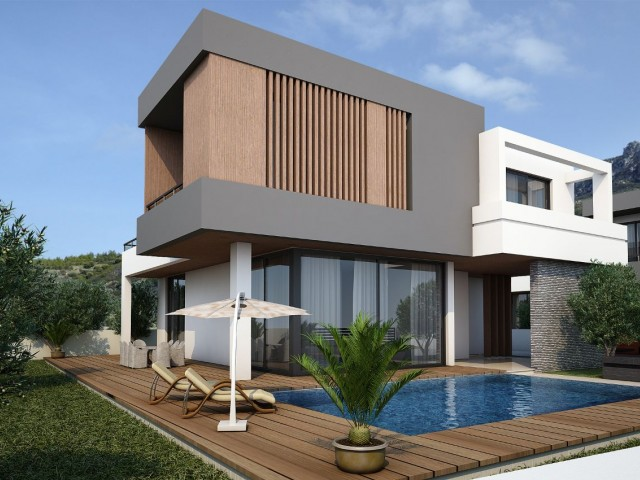 BRAND NEW PROJECT - 4 + 1 Villa with Private Pool and Incredible Panoramic Sea & Mountain Views - Property Number GR1760