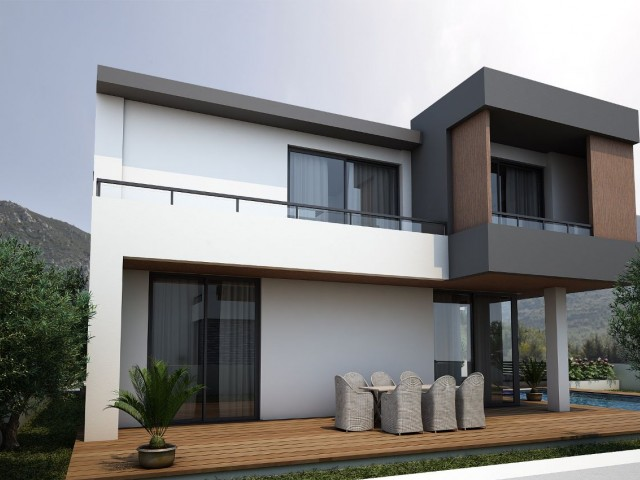 BRAND NEW PROJECT - 3 + 1 Villa with Private Pool and Incredible Panoramic Sea & Mountain Views - Property Number GR1762