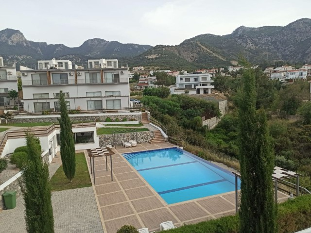 3 + 1 Town House with Roof Terrace Jacuzzi, Shared Pool + Fitness Centre & Tennis Courts in Catalkoy