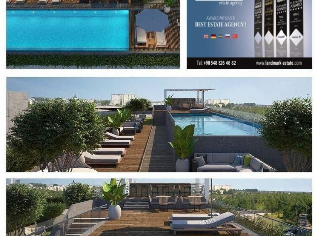 Fantastic Investment Right In The Heart of Kyrenia - 1+1 Apartments with Spa, Hammam, Pool, and Gym