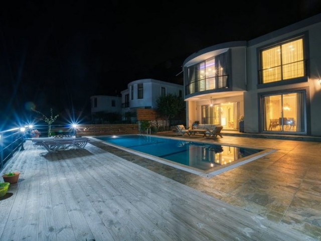 Stunning  4 + 1 Luxury Villa with Private Pool + Panoramic Views of Kyrenia, the Sea and the Mountains