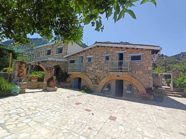 Great Business Opportunity - Full of Cypriot Charm - Restaurant, Bar, B & B in the Heart of the Magi