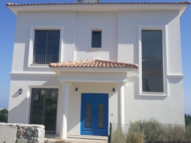 Brand new UNFURNISHED (with white goods, air condition, and central heating) 4 + 1 Villa with Shared Pool