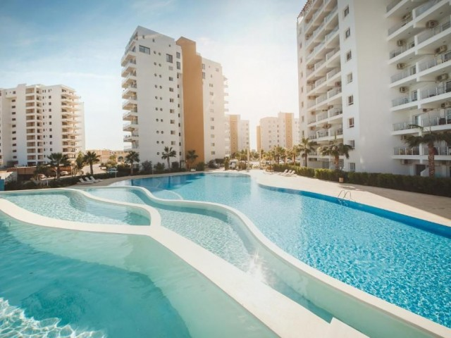 GREAT VALUE - LUXURY 3 + 1 APARTMENT IN THE MUCH SOUGHT AFTER  CEASAR RESORT IN THE POPULAR LOCATION OF ISKELE