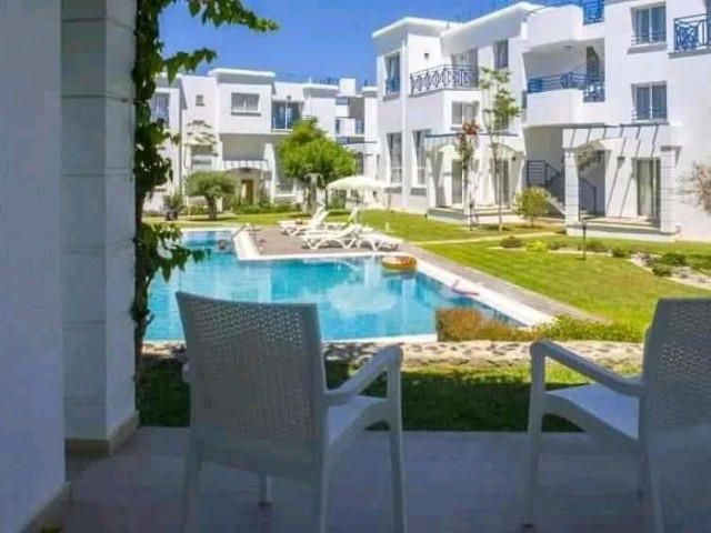 1 BEDROOM DUPLEX HOUSE ON A BEAUTIFUL WELL MAINTAINED COMPLEX IN ALSANCAK (can be easily converted into a 2 bedroom apartment)