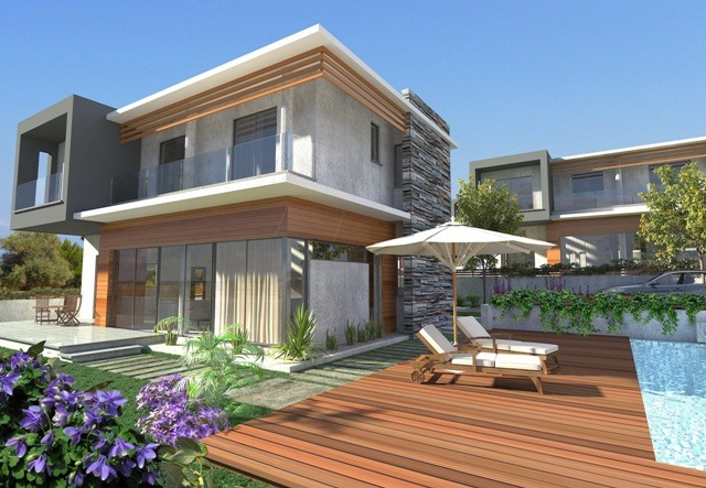 Turkish Title Deed Modern  Luxury Villa For Sale