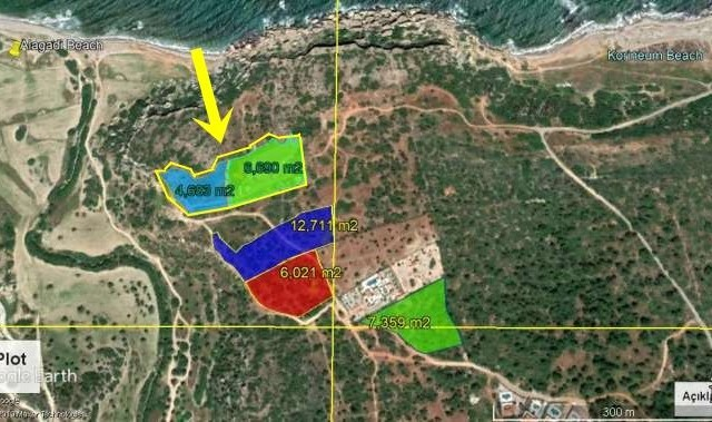 Land For Sale in Esentepe