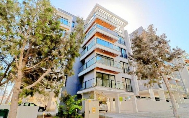 Unique 3 + 1 Luxury Apartment For Sale In Kyrenia Center