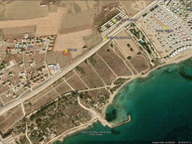 CLOSE TO THE SEA BUILDING PLOT FOR SALE IN ISKELE BOĞAZ £42.000