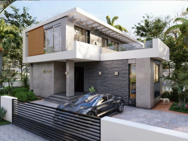 FOR SALE  SINGLE AND SPECIAL DESIGN LUXURY VILLA ***£235.000**