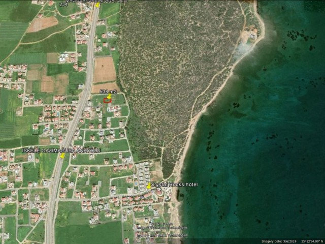CLOSE TO THE SEA BUILDING PLOT FOR SALE IN MAGUSA SALAMİS ***£69.999***