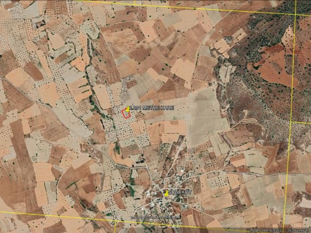 TOTAL 2 DONUM 3.400 SQURE FEET TURKISH TITLE DEED LAND FOR SALE IN SAZLIKÖY ***£19.500***