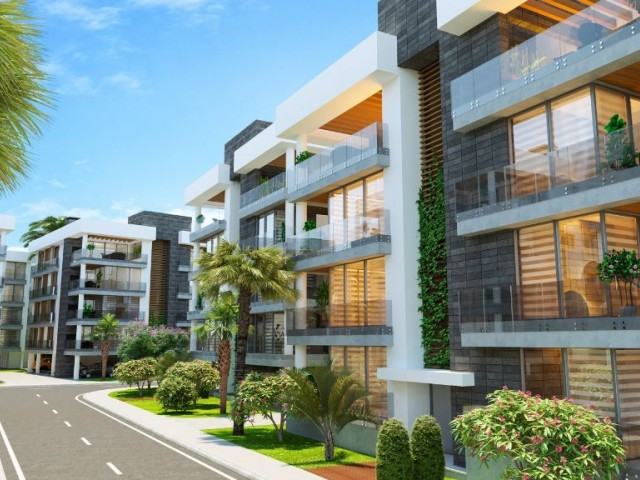 3+1 Apartment for sale in Nicosia New Project