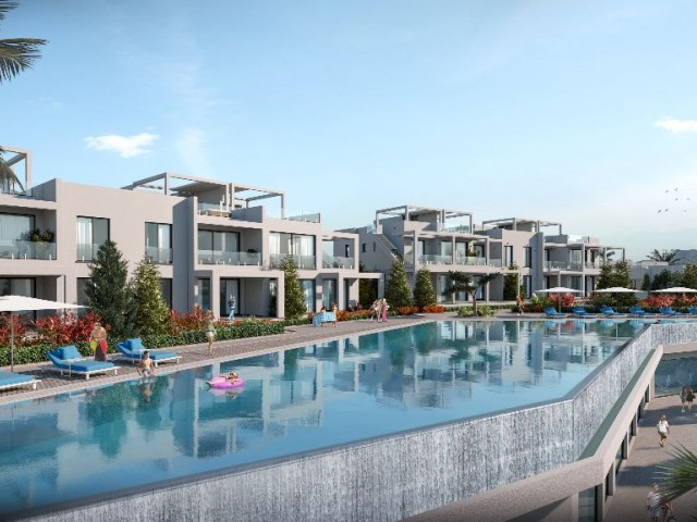 3 bedroom new penthouse by the sea for sale in Kyrenia, Esentepe