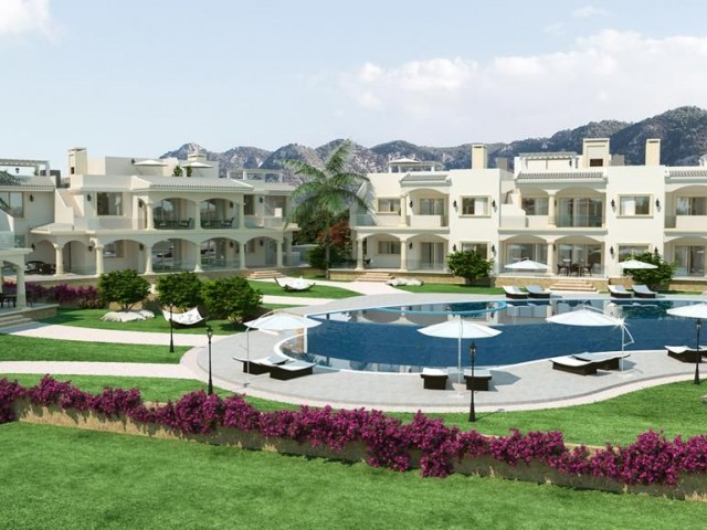 2 bedroom luxurious penthouse apartment for sale in Kyrenia, North Cyprus