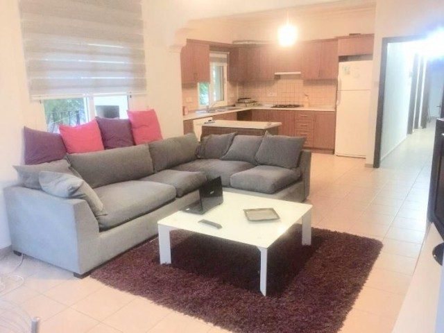 3+1 full furnished apartment for rent in center of Kyrenia.
