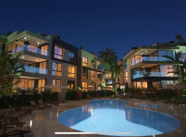 Gorgeous 2+1 apartment  for sale in Alsancak, in a complex with a pool.  Delivery February 2022.