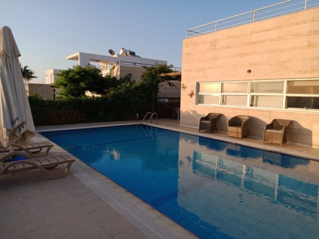 3+1 villa for rent in Esentepe , and can be weekly rent