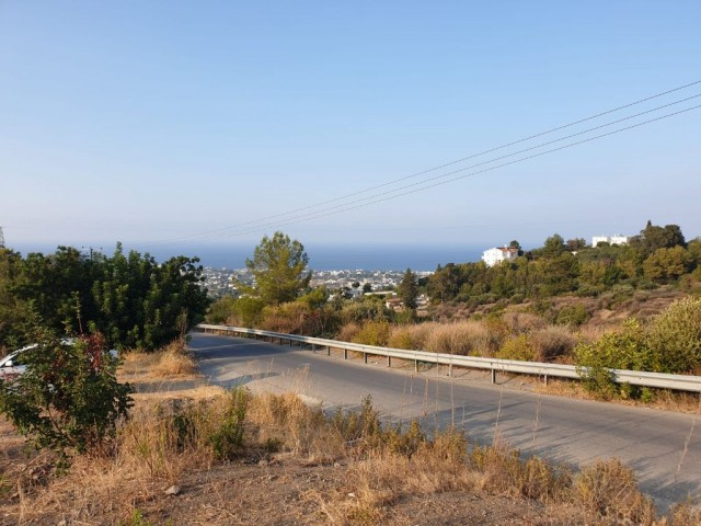 BEAUTIFUL PLOT IN KARMİ 2,140 m2 WITH EXCELLENT SEA AND MOUNTAIN VIEWS