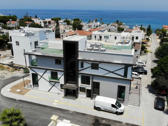 1 bedroom flat for sale in Kyrenia - Karaoğlanoğlu - Pool - Sea 100 m - Sunshine City PLUS +