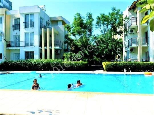 For sale 3+1 apt with shared pool and fully furnished