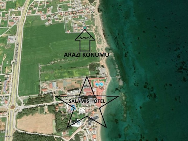PLOT FOR SALE IN SALAMIS AREA 100M TO THE BEACH