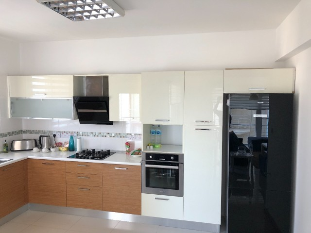 Fully furnished, 3 Bedrooms, sea view flat by the sea