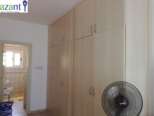 BEAUTIFUL, 3 BEDROOM, GROUND FLOOR APARTMENT, ON A WELL MAINTAINED AND SECURE SITE IN TATLISU.