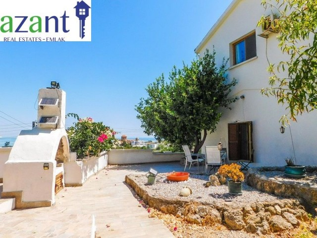 2/3 Bed Traditional Village House in Alsancak with Stunning Views