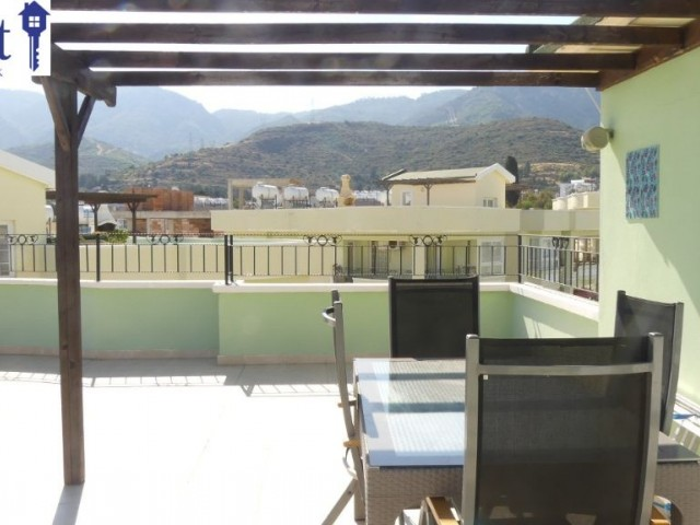 STUNNING 3 PENTHOUSE WITH MOUNTAIN AND SEA VIEW IN ALSANCAK