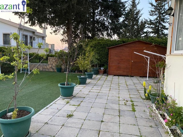 3 BEDROOMED APARTMENT FLAT WITH STUNNING GARDEN IN KARAOGLANOGLU