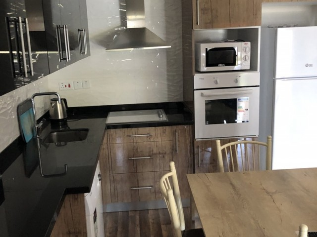 2+1 furnished lux flat in central Girne