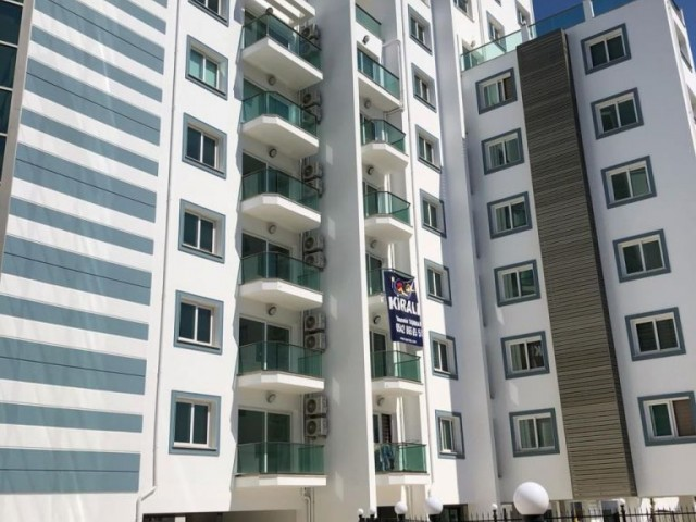 Ready to move! 2 Beds Modern Flat in Kyrenia Center With Communal Pool, Security and Underground Par