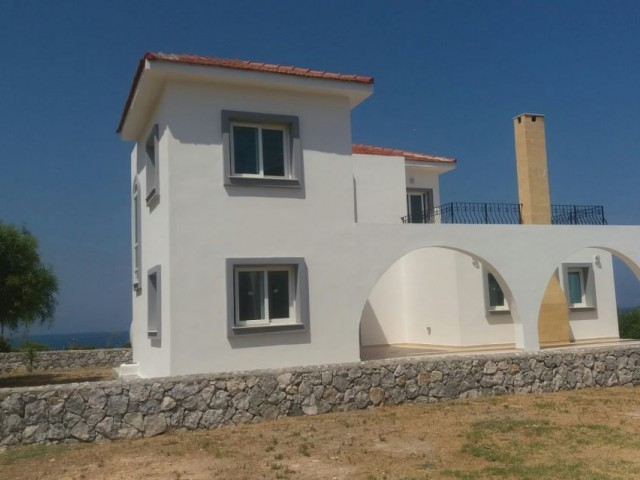 Brand New 3 Bedroom Villa with Fabulous 'Next to the Sea' location in Esentepe.For more information: