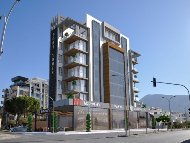 4 store near Kyrenia Liman for sale!