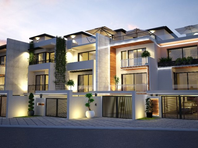 TWIN VILLAS WITH MOUNTAIN AND SEA VIEW COMMON SWIMMING POOL IN GIRNE