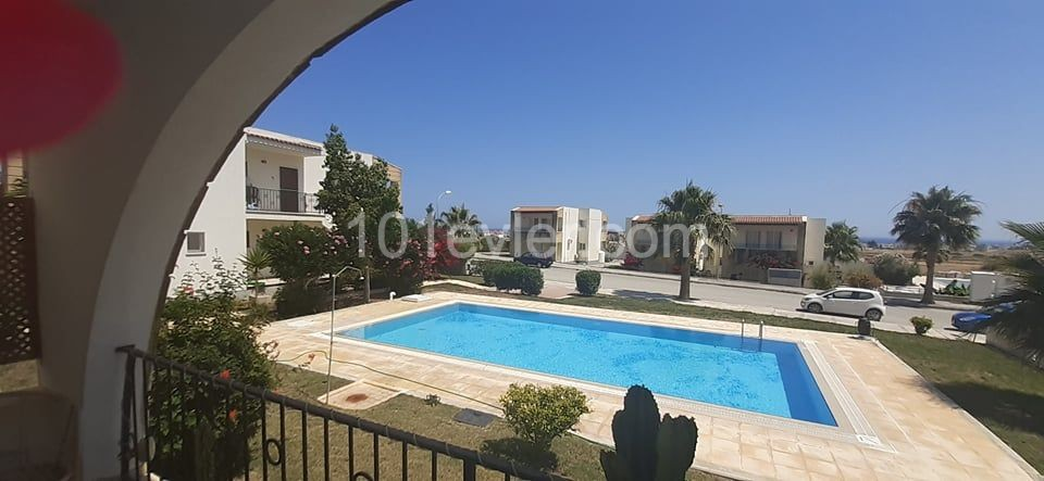 2 + 1 APARTMENT FOR SHORT TERM RENTAL IN THIS POPULAR LOCATION  OF HILLTOP, BOGAZ