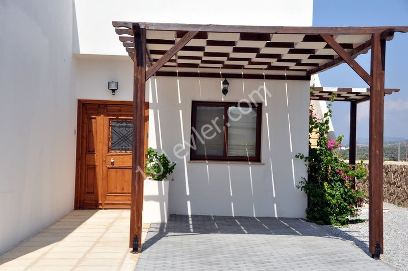3 bedroom off plan bungalows + communal pool + sea views