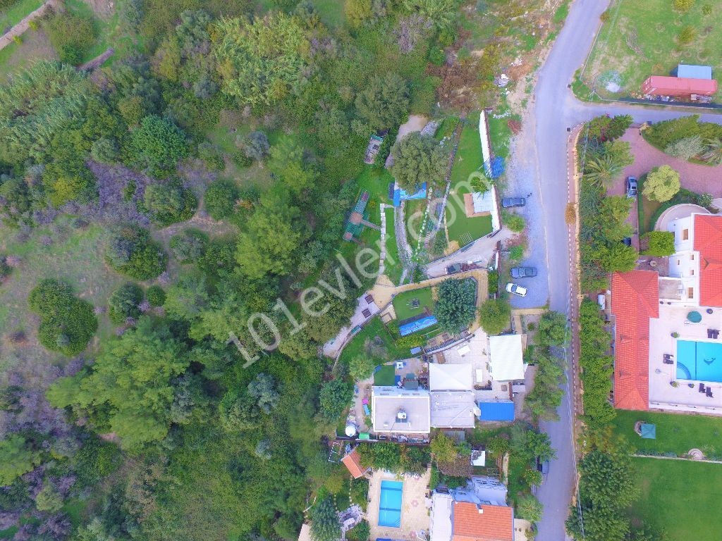LAND AND HOME FOR SALE OR COMMERCIAL USE WITH MOUNTAIN & SEA VIEW