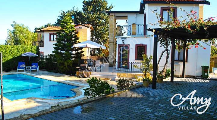 In KYRENIA/ ALSANCAK  3+1 VILLA with swimming pool and individual title deeds- FREE HOLD. Contact : Doğan BORANSEL 0533-8671911