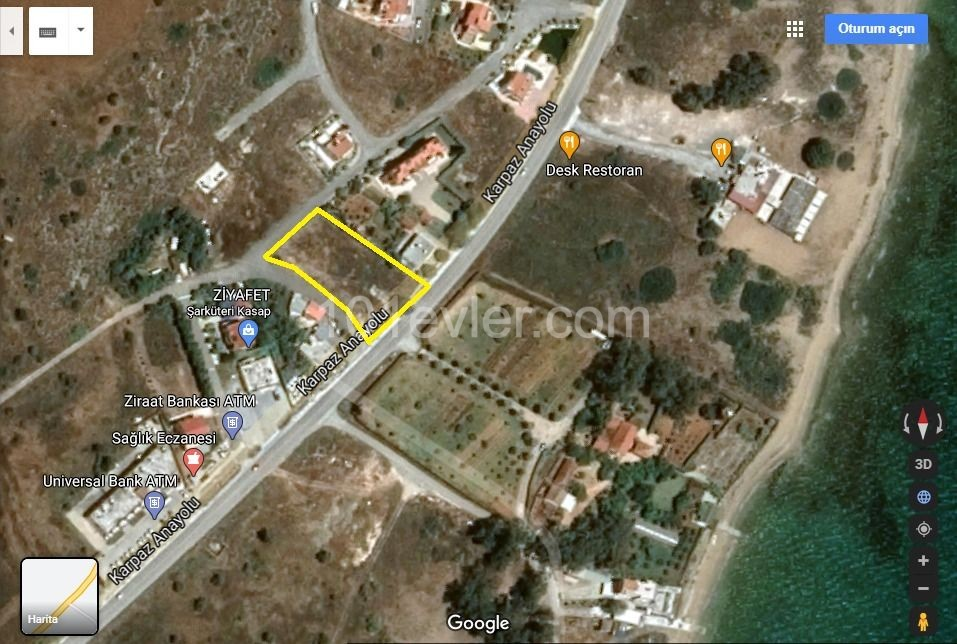 Land For Sale in Boğaz, Iskele