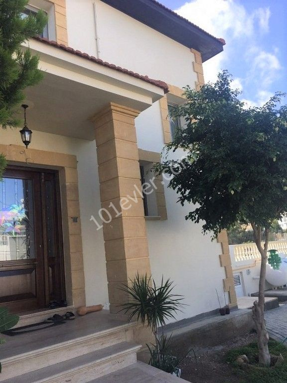 Remarkable 4 En-suite Bedroom Villa With Beautifull Sea and Mountain views Private Swimming pool and garden Location Catalkoy Girne.(For Rent)